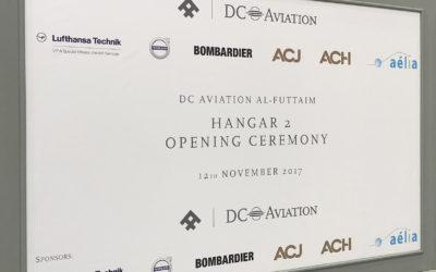 Dubaï Air Show 2017 – DCAF Hangar Opening Ceremony